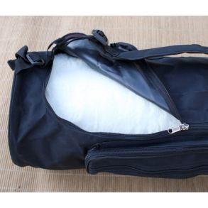 Bag til ullmatte 70 cm burgunder Yogabag Yogaveske